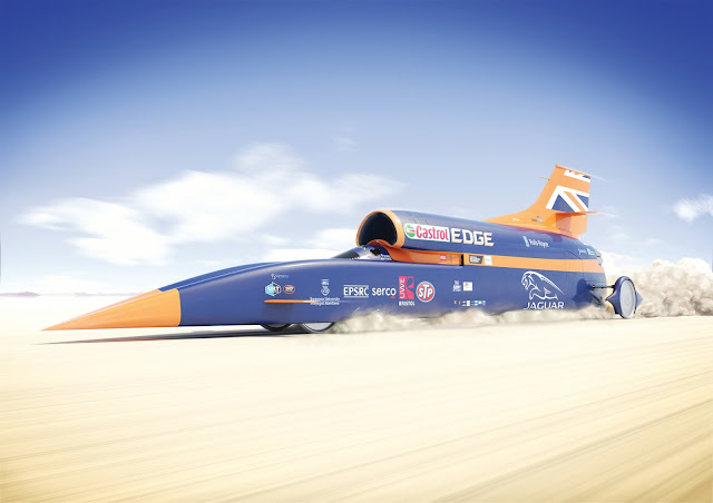 Photo of Bloodhound SSC (photo: The Bloodhound Project)