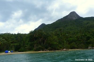 Passeio de barco em Paraty - Pão de Açúcar Mamanguá