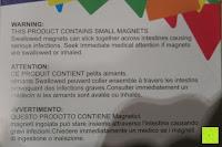 Warnung Englisch: Playbees 100 Teile Magnetische Bausteine Set für 2D und 3D Form Konstruktionen, Regenbogenfarben Magnetspielzeug, Baukasten Magnetspiel, Magnetbausteine