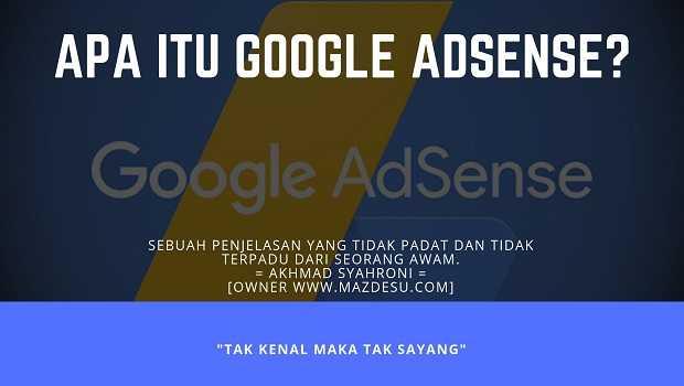 Apa Itu AdSense?