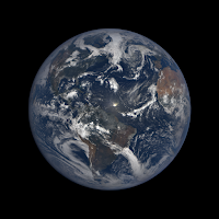 Earth seen by DSCOVR Observatory