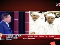 Ustadz Arifin Ilham Jadi Bintang ILC tvOne Tadi Malam, Karni Ilyas Sampai Memuji Habis