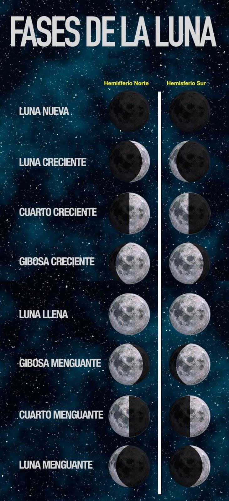 Las fases lunares la agricultura y su influencia en las for Q fase de luna es hoy