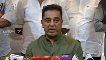 Our party is important for both nationalism and dharma : Kamal Hassan