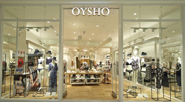 Loja de lingerie Oysho em Barcelona