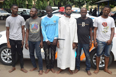 Six Men Arrested For Using Sim Cards From Stolen Phones To Transfer Funds From Victims Bank Account