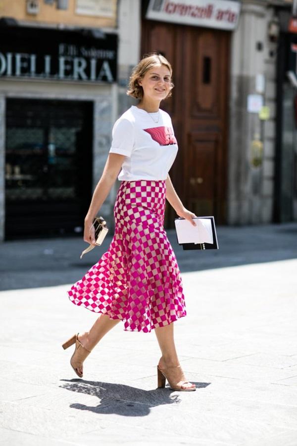 Tips para llevar falda larga aunque seas bajita El Diario