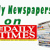 NAIJA NEWSPAPERS: TODAY'S THE DAILY TIMES NEWSPAPER HEADLINES [7TH OCTOBER, 2017].