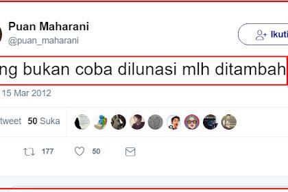 Menantang Nyali Puan Maharani, Beranikah Ia Mengkritik Jokowi Karena Tambah Utang? Seperti Jaman SBY Dulu Loh...