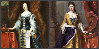Royal Siblings Anne and Mary II of House of Stuart