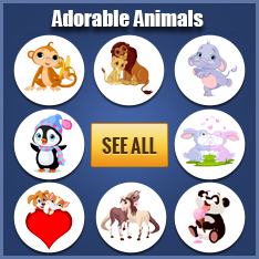Adorable Animals Stickers