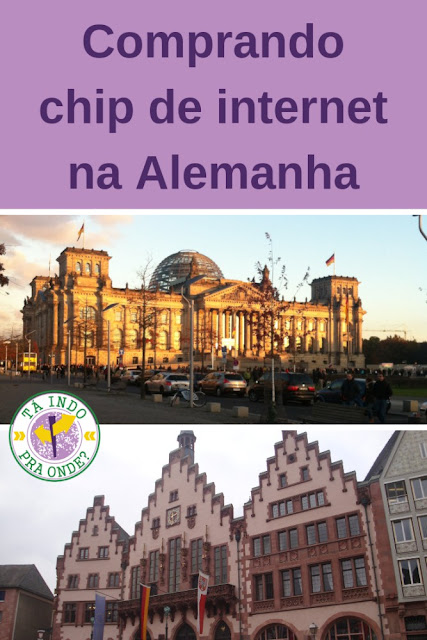 Comprando e usando chip de celular na Alemanha e na Itália