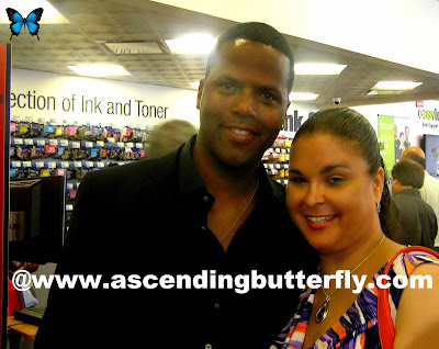 AJ from Extra TV, Tracy from Ascending Butterfly