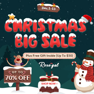 Rosegal CHRISTMAS SALES