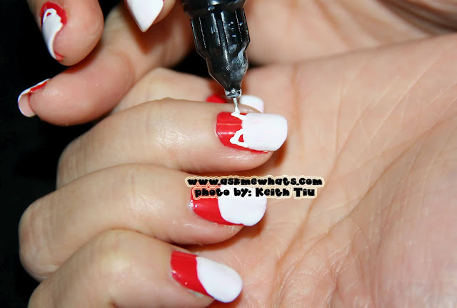 a photo of Maneki Neko Nail art