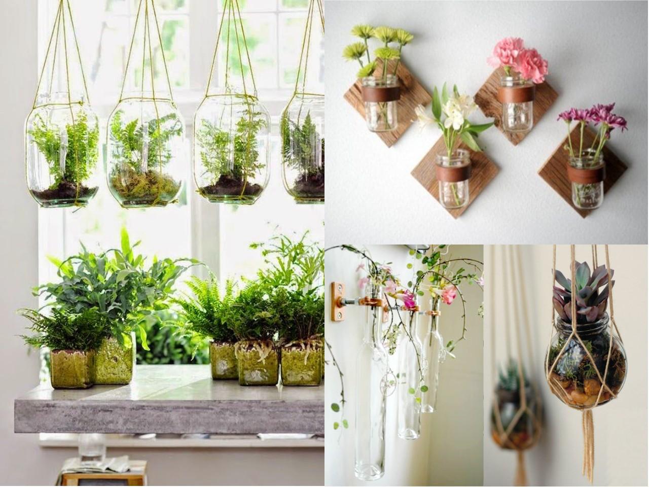 compartimos algunas ideas de cmo y donde puedes colocar las plantas colgantes para interiores de tal manera que den un estilo nico a cada espacio