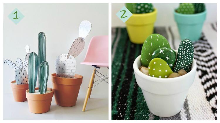Diys de cactus /diys con cactus by Habitan2 decoración handmade para hogar y eventos / Deco low cost
