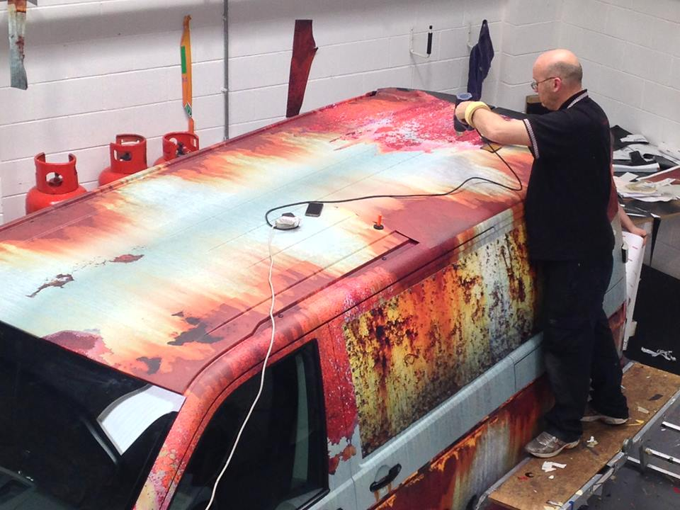 02-Clyde Wraps-Car-Vinyl-Wrap-with-the-Rust-Treatment-www-designstack-co