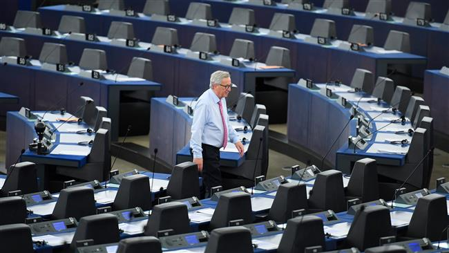European Commission chief Jean-Claude Juncker calls EU's empty parliament 'ridiculous'