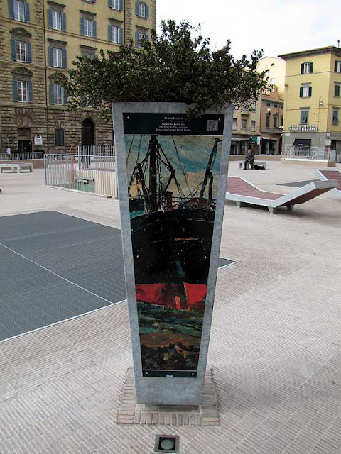 New planter, piazza Attias, Livorno
