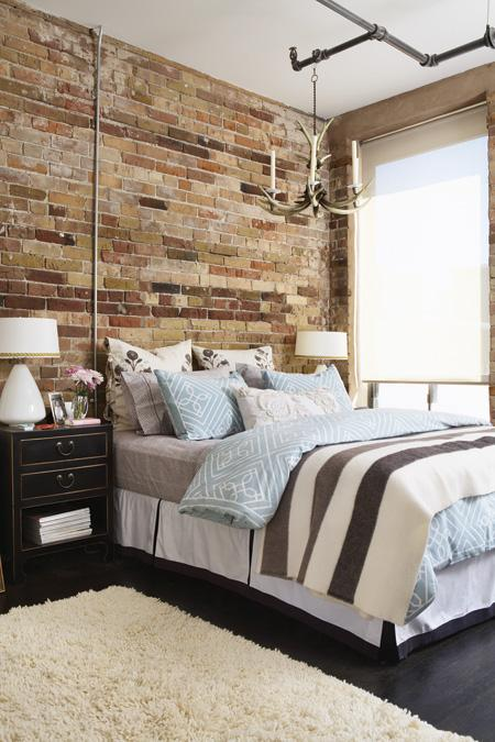 Exotic House Interior Designs Exposed Brick And Plaster Walls For The Interior Design Of Your Bedroom