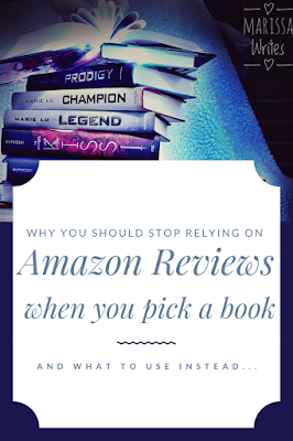 Amazon v Goodreads for picking your next read