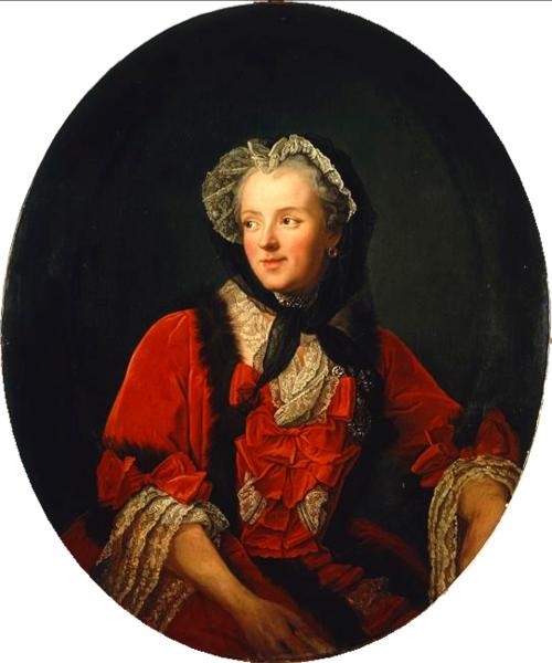Marie Leszczyńska by Jean-Marc Nattier, 1748