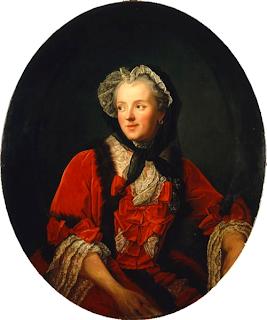 Marie Leszczyńska by Jean-Marc Nattier