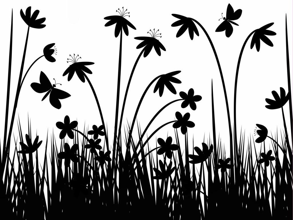 Black And White Swirl Wallpaper