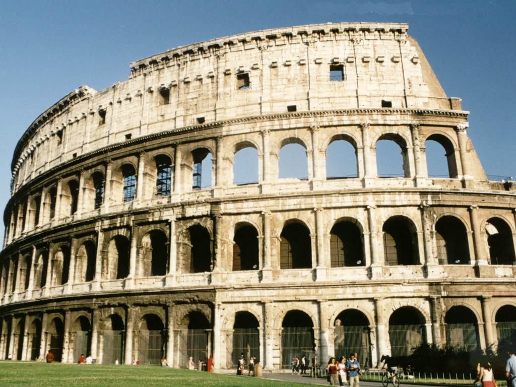 Free Download Wallpaper HD : Roman Colosseum- Wonder Of