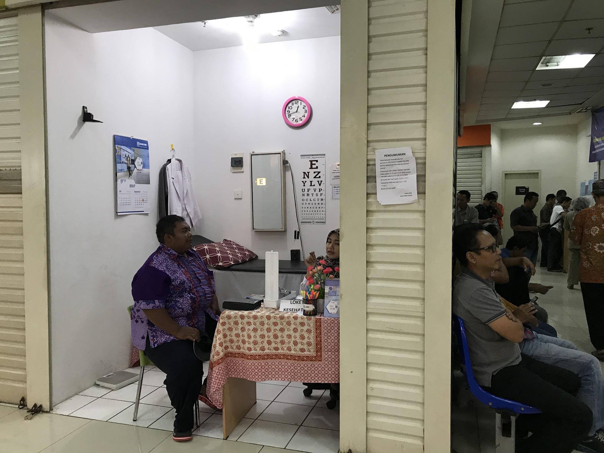Sharing Pengalaman Memperpanjang SIM A di SIM Gerai Tamini Square