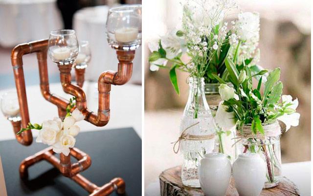 Marzua ideas para decorar centros de mesa for Centros de mesa modernos para casa