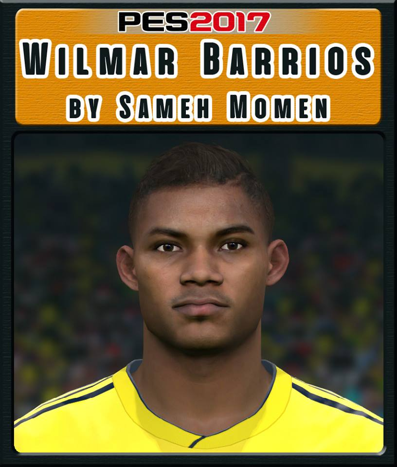 PES 2017 W. Barrios Face by Sameh Momen