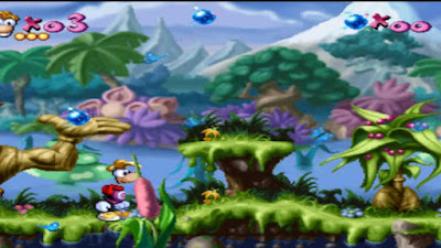 Download Game Rayman PS1