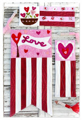Valentine mini quilts pattern