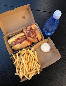 Mason Dixon American Sandwich Bar, Melbourne, meatball hoagie, fries