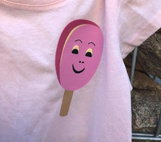 Pinkabell auf Shirt