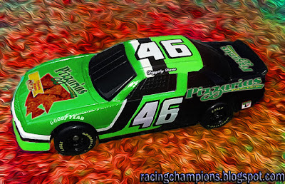 Diggity Dave #46 Pizzarias Pizza Chips Chevrolet Racing Champions 1/64 NASCAR diecast blog custom