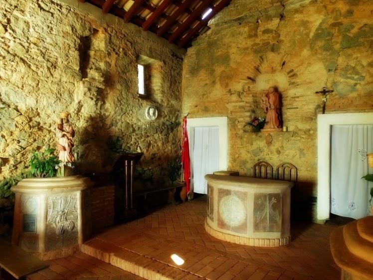 Interior da Capela da Fortaleza da Ponta Grossa, Florianópolis