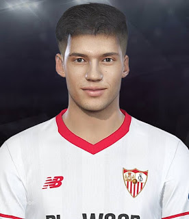 PES 2018 Faces Joaquín Correa by Prince Hamiz