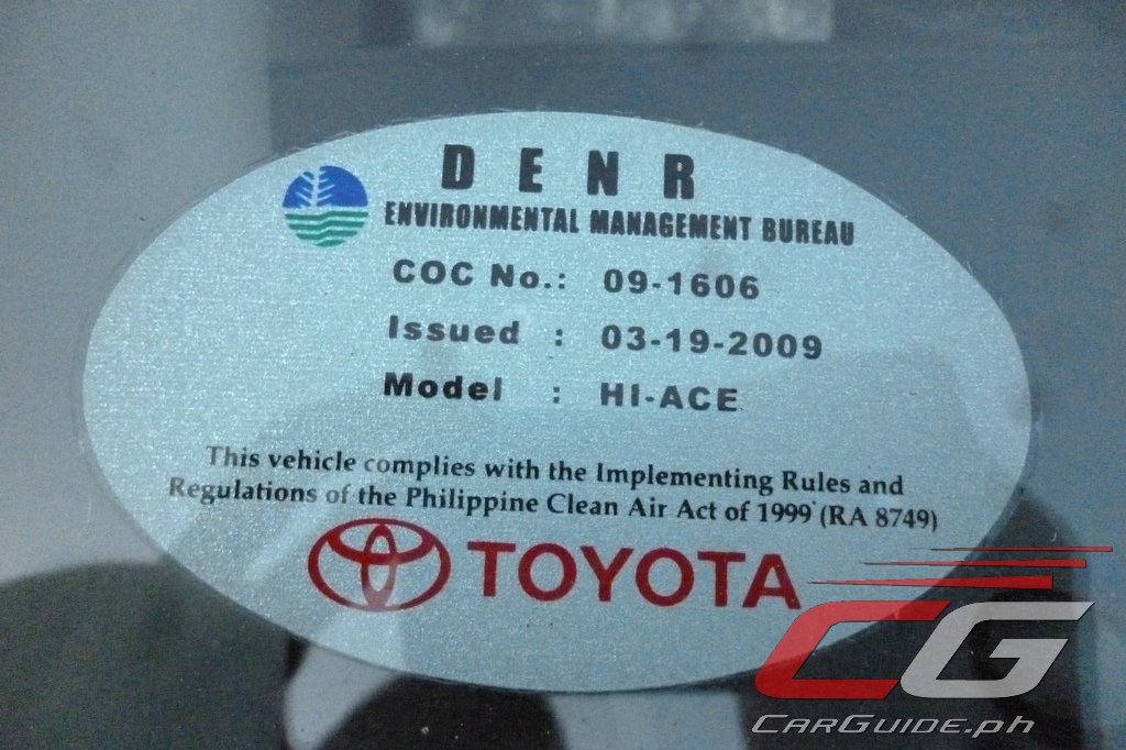 DENR Reminds Car Buyers: Only Euro 4 Vehicles Allowed to be
