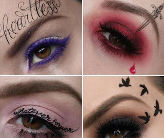 Trend Riasan Wajah Terbaru Tato Temporer Make Up Para Artis