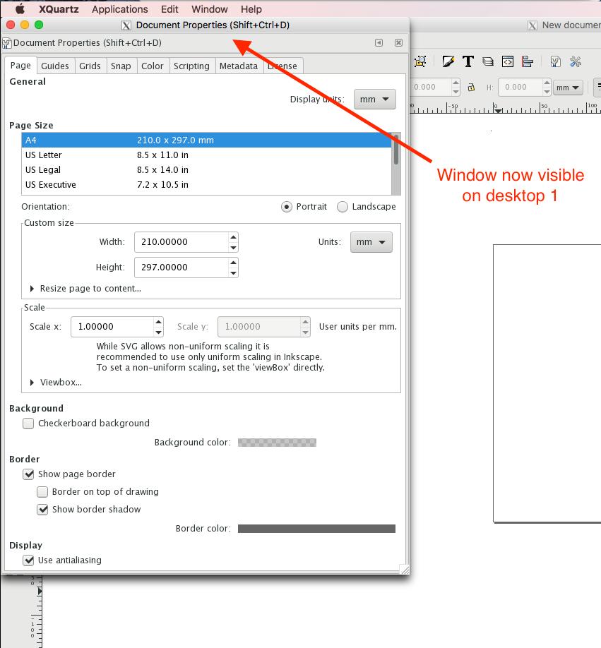 Grammar Of Dev: My How-To Reminders: XQuartz move offscreen