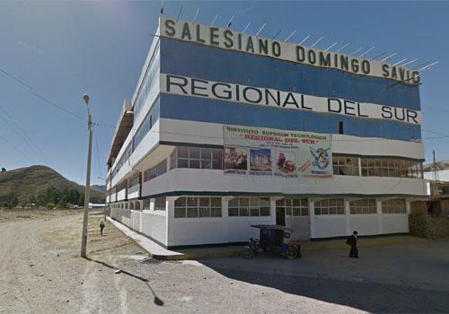 IEST REGIONAL DEL SUR - Sicuani