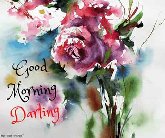 good morning darling wallpaper