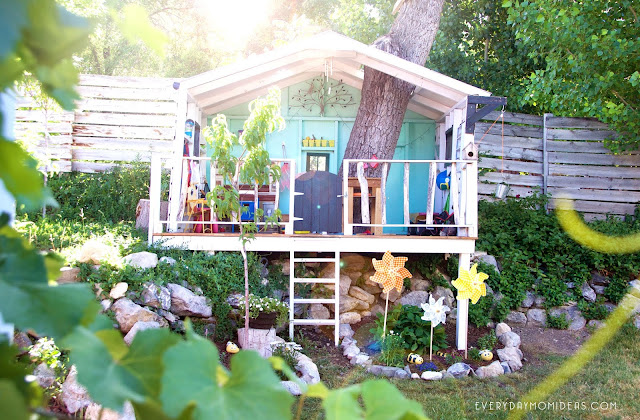 DIY Open Concept Tree House