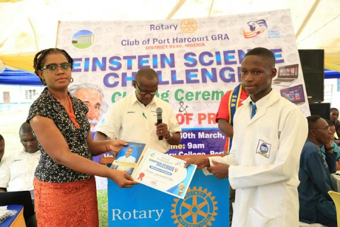KIR FOUNDATION CO-SPONSORS THE EINSTEIN SCIENCE CHALLENGE