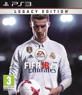 Baixar Grátis o jogo Fifa 18 PS3 2018