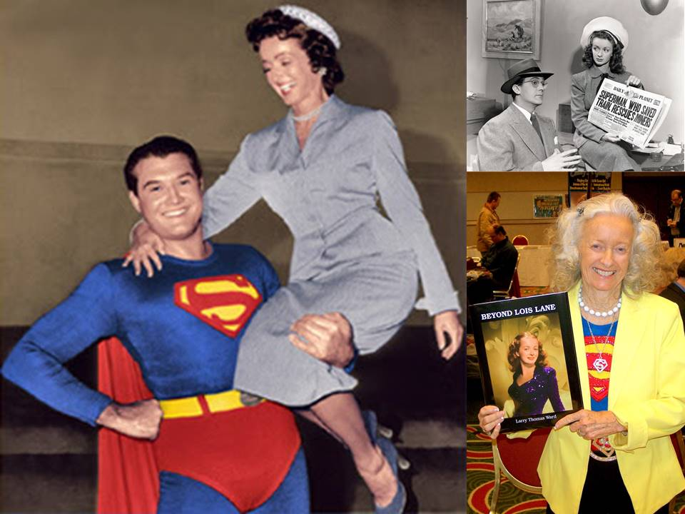 Lois was the woman who stood behind Superman to help make him super and Noel was the first woman to bring Lois Lane to life and she was super!  sc 1 st  Daveu0027s Comic Heroes Blog & Daveu0027s Comic Heroes Blog: Remembering Noel Neill and Lois Lane