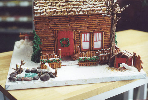 Be Different Act Normal Gingerbread House Ideas